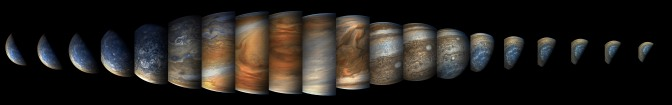 New Photos From Juno's Recent Jupiter Fly-Over (Perijove 09)